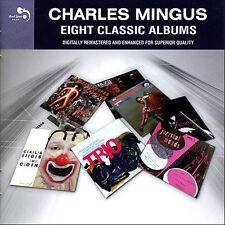 Charles Mingus EIGHT (8) CLASSIC ALBUMS Pithecanthropus Erectus CLOWN New 4 CD