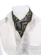 Krawatte Seidentuch Herrenschal Seide Seidenschal Herrentuch Krawattenschal grün