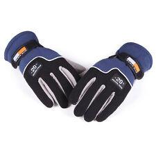 New listing 2 Pairs Winter Warm Full Finger Sport Bike Motorcycle Ski Snowboard Snow Gloves