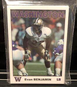 2005 Washington Huskies Football Card Set