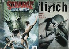 2 comics Vertigo inédits Flinch 1 Strange Adventures  4 : Jim Lee Corben Quitely