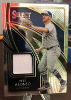 2020 PETE ALONSO PANINI SELECT SWATCHES JERSEY Mets 🔥🔥🔥