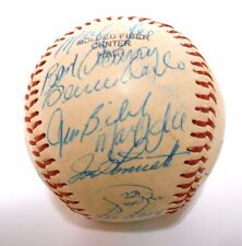 Willie Stargell Bert Blyleven 1980 Pittsburgh Pirates TEAM Signed Autograph Ball