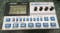 Boss DR-110 Dr. Rhythm Graphic Drum Machine With Tracking Number Free Shipping
