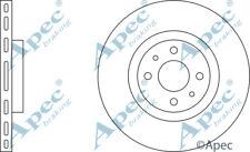 FRONT BRAKE DISCS (PAIR) FOR FIAT STILO MULTI GENUINE APEC DSK651