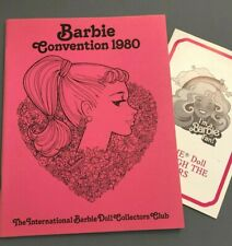 Original Convention booklet from the FIRST BARBIE Collectors CON 1980 Ruth Cronk