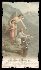 santino cromo-holy card^L'ANGELO CUSTODE bouasse lebel