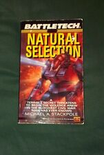 FASA Battletech Novel Natural Selection Paperback Science Fiction Mechwarrior