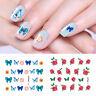 LEMOOC Nail Art Water Decals Single Flower Pattern Transfer Sticker  DIY