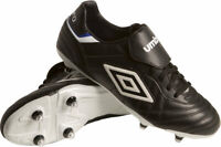 Umbro Kids Football Boots Boys Speciali Eternal Premier SG Boots - Black - New