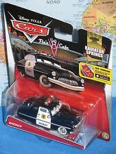 DISNEY PIXAR CARS SHERIFF #3/19 RADIATOR SPRINGS ***BRAND NEW & VHTF***