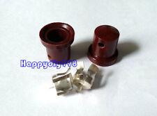 2PC  Brown bakelite anode cap  for 6F8G 6P12P FU519 EL504 EF37 6J7 vaccum tubes