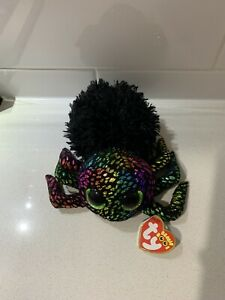 """Leggz Spider 6"""" 15cm Halloween Ty Beanie Boos"""