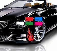 2 x 118 flamme feu sport drift tuning VINYL JDM Decal Art WV autocollant voiture de course