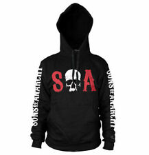 Officially Licensed Sons of Anarchy S-O-A Big & Tall 3XL, 4XL, 5XL Hoodie
