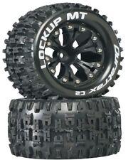 NEW Duratrax Lockup MT Tires Wheels (2) 4WD Stampede Savage XS Flux F/ R