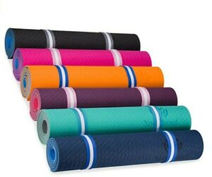Yoga mat-Yoga-Fitness-Health-Yogaland-Multiple colors-Strap-Excercise-