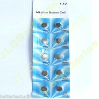 10 Alkaline Button Cell Batteries AG7 LR927 395 SR927 SW 195 V395 SB-AP 280-48