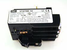 IMO U12/16E 14 Thermo Überlastrelais Einphasig Shutz- 10-14A MBJ1-06