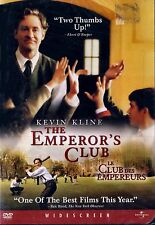 NEW DVD //The Emperor's Club // Kevin Kline, Emile Hirsch, Jesse Eisenberg, Paul