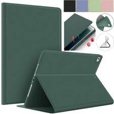 For Apple iPad Models Smart Leather Silicone Folio Stand Case Cover Book Shell