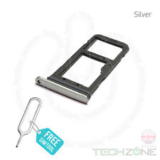 SIM Card Tray Holder Slot for Samsung Galaxy S7 SM G930 G930f With Ejector Tool Silver