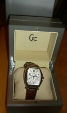GC Men's  Smart Luxury Watch Swiss Made Leather Band A60003G1/09 New in Box
