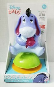 High Chair Toy Eeyore Disney Baby From Winnie The Pooh With Light music New.
