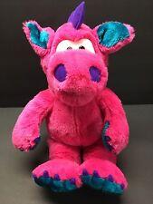 PlayTalkin' PINK Dragon Plush Puppet 24K Polar Puff 1994