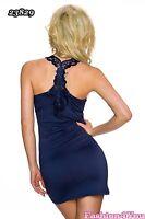 Sexy Women's Mini Dress Ladies Summer Casual Sundress One Size 8,10,12,14 UK
