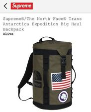 Supreme x The North Face Trans  Expedition Big Haul Backpack SS17 TNF Olive NEW!