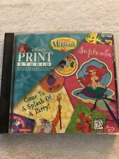 Disney's The Little Mermaid Print Studio 1997