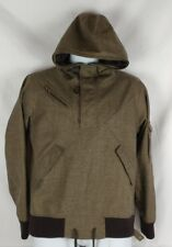 European Womens Nikita Jacket Pull Over Hoodie Brown Size: Medium