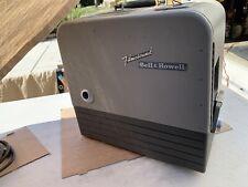 Vintage Bell And Howell 16MM Filmosound Model 202 & Speaker Tested Works