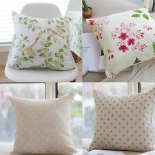 Geometric Pattern Plaid Throw Sofa Pillow Cushion Pillowcase Square Pillow Cover