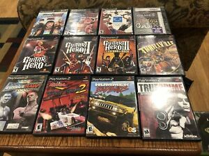 PlayStation 2 Game Lot Free Shipping