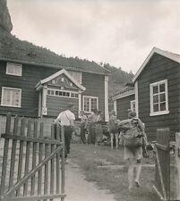 NORVÈGE c. 1950 - Maisons  Garçons  Scouts vers Arendal - P 1467