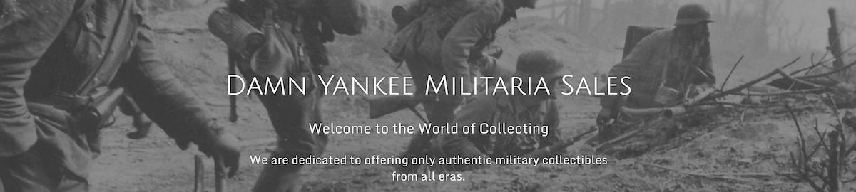 Damn Yankee Militaria Sales