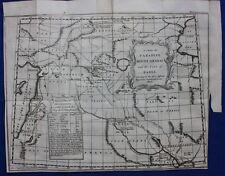 Original antique map MOUNT ARARAT, BABEL, PERSIA, IRAQ, MIDDLE EAST, Bowen, 1747