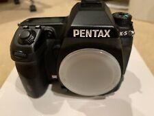 PENTAX Pentax K K-5 16.3MP Digital SLR Camera - Black (Body Only)