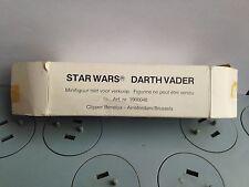 Vintage star wars figure * darth vader * clipper mail away boxed * kenner