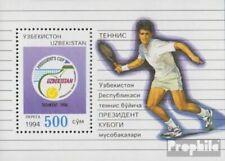 Uzbekistan block3 (complete issue) unmounted mint / never hinged 1994 Tennis