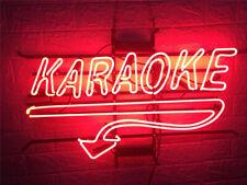 "New Karaoke Bar Cub Party Light Lamp Wall Decor Neon Sign 17""x14"""