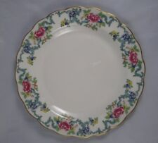 Royal Doulton Majestic Collection Booth's FLORADORA GOLD Scalloped Dinner Plate