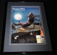 2000 Wieckse Witte Beer 11x14 Framed ORIGINAL Advertisement