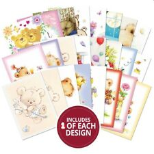 Hunkydory ~ A6 toppers ~ **24 x 150 gsm sheets** ~ Teddy Bears