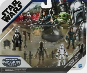 Star Wars Mission Fleet Defend The Child Pack perfection condition w/ free post