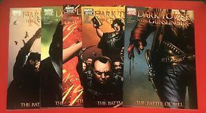 Dark Tower Gunslinger The Battle Of Tull Comic Lot Complete 1 2 3 4 5 1-5 Set