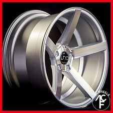 JNC 026 18X8 / 18x9  5-114 wheel Silver Machine face fit G35 G37 I30 J30 I35 M35