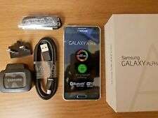 SAMSUNG Galaxy Alpha G850F 4G 32GB Unlocked Grey Ash Impeccable Grade to